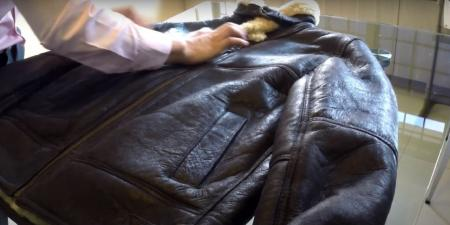 Cleaning Real Shearling